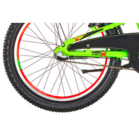s'cool troX urban 20 3-S Neon Green